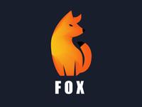 Animal logo Fox