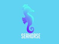 Animal logo Seahorse