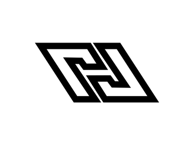 A monogram logo N + H color web stationery icon mark gradient agency vector construction colorful visual typography monogram illustration stationary logo identity brand design branding