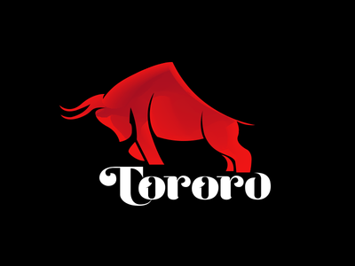 Animal Logo Tororo mark web color animal stationery gradient agency vector construction colorful visual typography monogram illustration stationary logo identity design brand branding