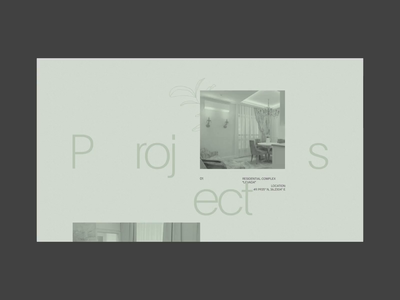 Projects interaction design motion minimalism interaction grid typography fashion webdesign ui