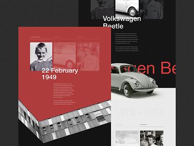 Niki Lauda race biography history minimalism black helvetica interaction webdesign photo typography grid obys ux ui