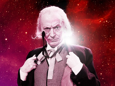 William Hartnell Print tardis space artwork william hartnell classic who dr who doctor who