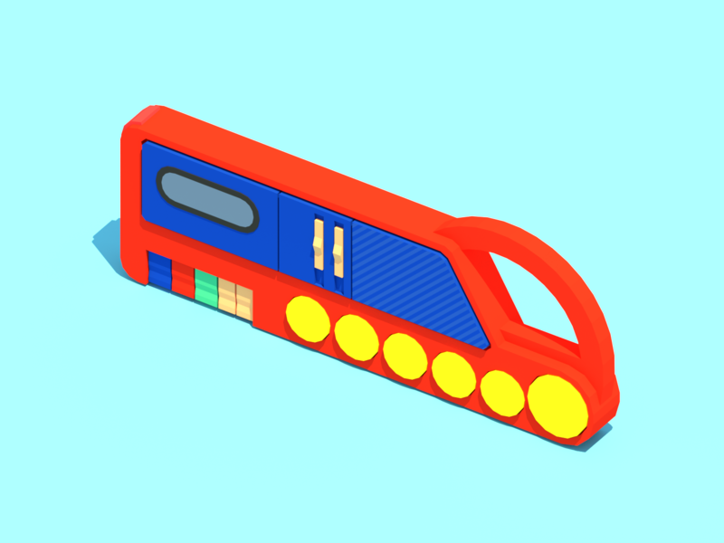 My First Sony Cassette Player cassette player music sony retro minimalist blender low poly illustration 3d lowpoly