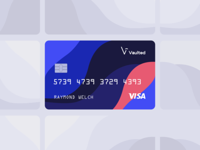 Vaulted - Credit Card Design