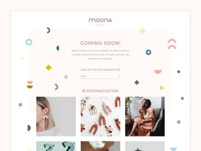 Moona- Coming Soon!
