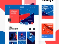 Illustrated web collection