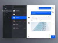 Social chat client