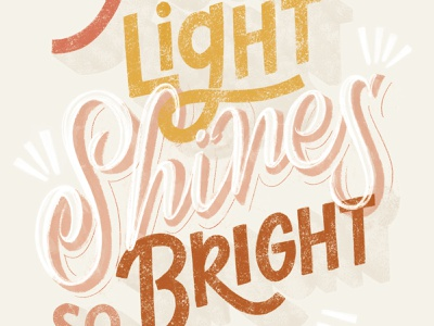Your Light Shines So Bright greeting card ecard free covid shines light healthcare design handlettering illustration lettering typography