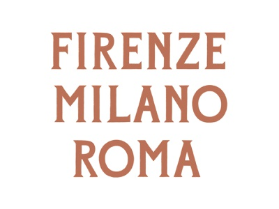 Sneak Peak - Mattina Sera font italy milan rome florence italian letterforms font design font