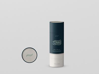 Sonny Packaging Design - Kraft Tube ecommerce logotype logo brand identity brand design packaging inspo bidet sonny kraft tube packaging packaging design