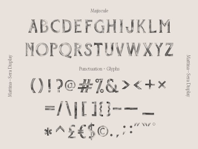 Mattina—Sera Font Preview hand painted brush texture svg font svg typedesign type font design font handlettering illustration lettering typography