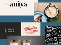 Mood Board - Axum Coffee Branding