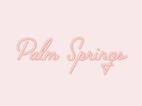 Palm Springs Type Design