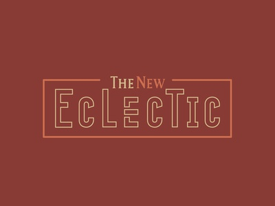 The New Eclectic - Outline Logo