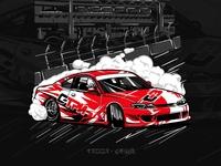 Silvia S15 artprint 4 t-shirt
