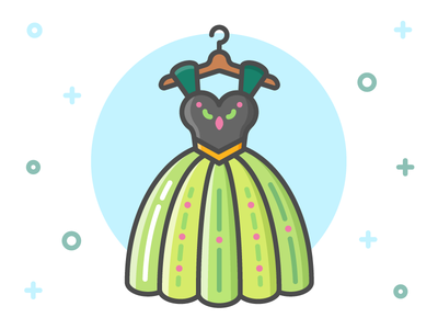 Princess Dress Icon Series: Anna