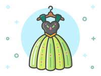 Princess Dress Icon Series: Anna