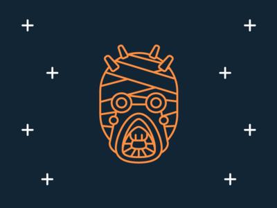 Star Wars Icons: Tusken Raider flat darth vader movie han solo icon disney space line raider tatooine tusken star wars