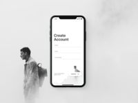 001 Daily UI - Sign-Up (Debut)