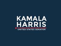 Kamala Harris United States Senator logo