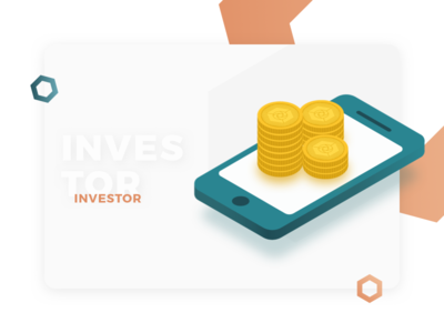 Investor Profile - Illustration for Cryptocurrency Website