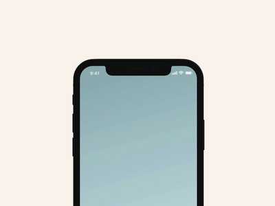 Notification Slider for iOS 13 (concept): Adobe XD dribbble home slide darkmode notification cards iphone x video iphone design xd adobe xd ios ui
