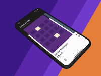Parallax Card Sliding: Adobe XD uxui laws ux 2020 gradient cards iphone x video iphone design xd adobe xd ios ui