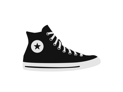 Converse design illustration converse