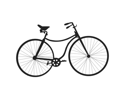Rover bicycle design illustration bicycle