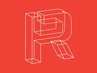 Riggs Partners Wireframe Logo