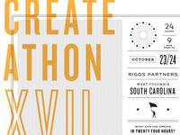 CreateAthon T-shirt design (WIP)