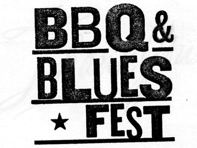 BBQ&Blues Fest logotype exploration