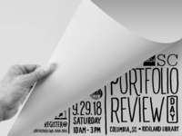 AIGA South Carolina Portfolio Review Graphic
