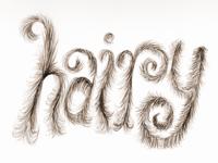 Experimental Hairy Type