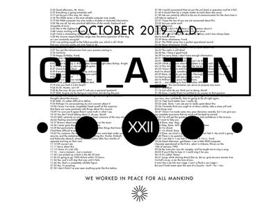 CreaAthon 2019 concept