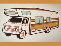 Camper, '70s style