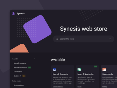 Web Store – Extensions dark theme hello dribbble web app ux ui