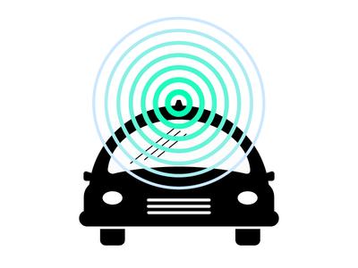 Driverless Car Icon