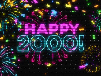 Happy 2000 CRT