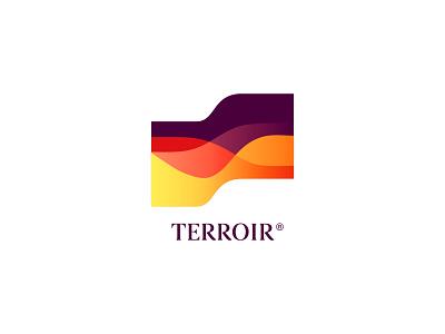 Terroir Wine colorful logo store winery terroir bottle wine