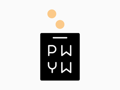 PWYW symbol update! theatre pay what you want payment pay moneybox money coins coin pwyw