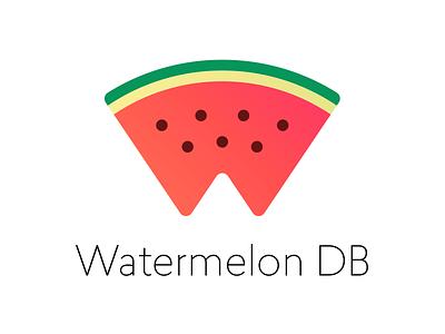 Watermelon DB databese reactnative react github db logo watermelon