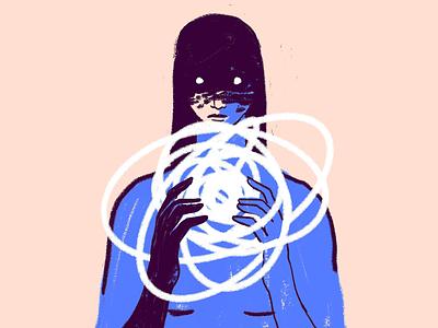 Mess mess illustration