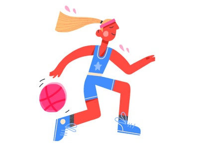 A Little Dribbbler