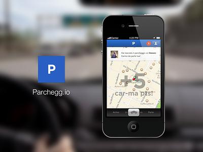 Parchegg.io #2 car parking parcheggio ios iphone app