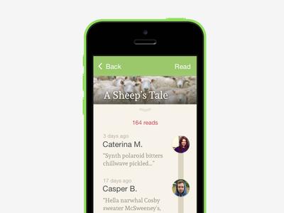 A Sheep's Tale book read unreleased app track timeline bookcrossing ebooks