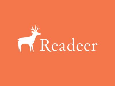 Readeer publishing digital ebook reader read logo