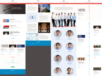 CEST Website responsive news timeline events web webdesign cest