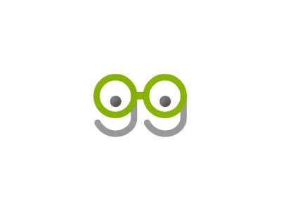 gg logo pictorial typographic